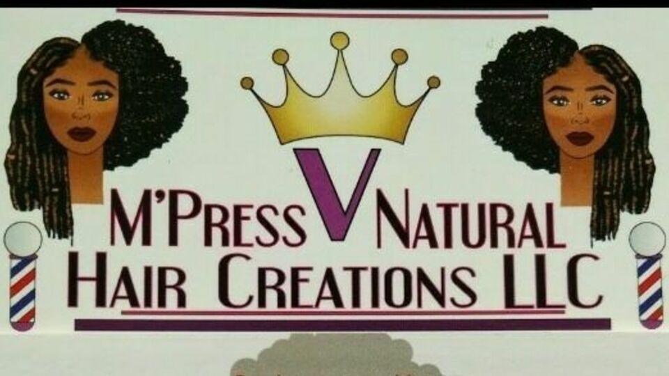 M'press V Natural  Hair Creations