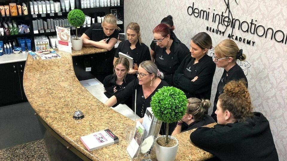 Demi International Beauty Academy - Thursday Bookings